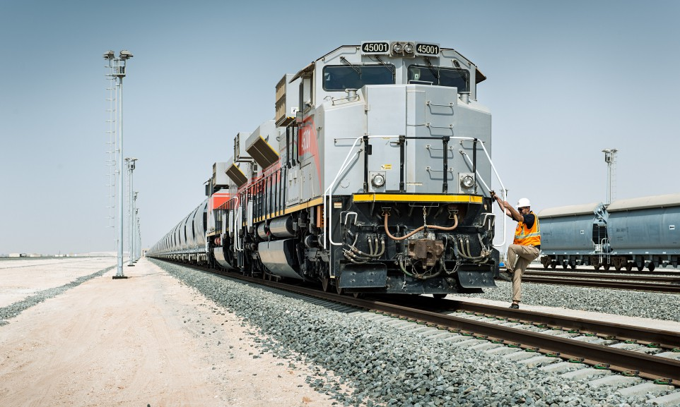 Die Bahn entwickelte die Struktur für ein, auf den Transport von Schüttgut ausgelegtes Bahnnetz in den Vereinigten Arabischen Emiraten.