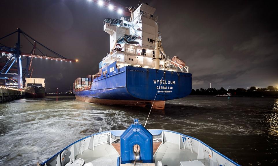 Containerterminal Altenwerder in Hamburg