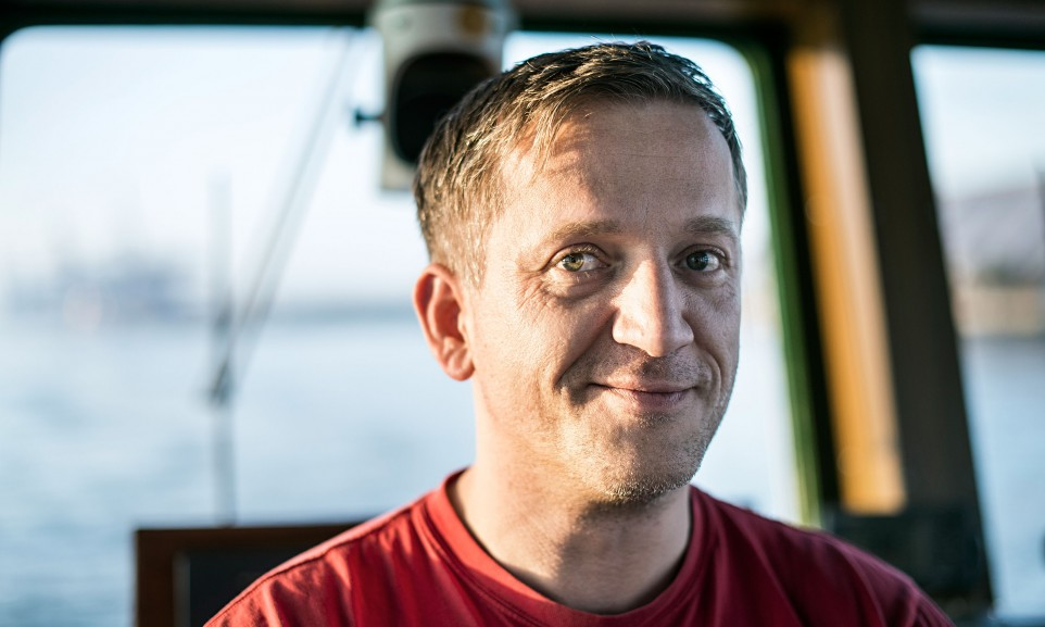 Kapitän Pieter Bußler in Hamburg