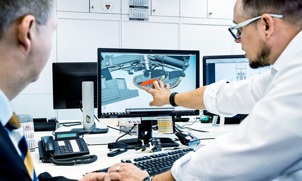 Wirtgen stellt in Windhagen in zahlreichen Produktlinien Strassenbaumaschinen her