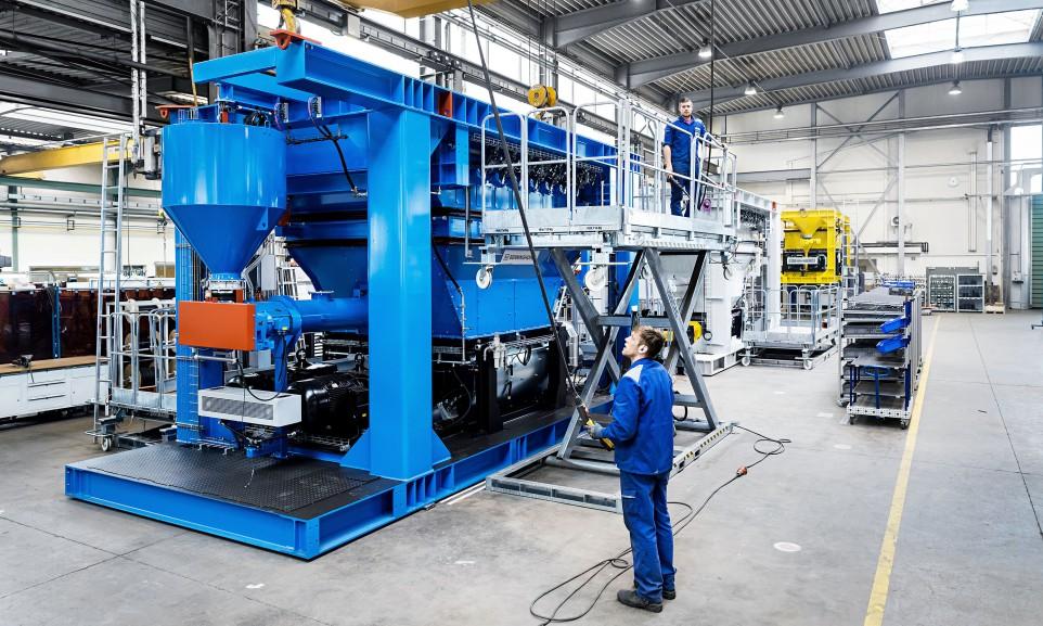 Mit Benninghoven gehört auch ein Anbieter von Asphaltmischanlagen zu Wirtgen