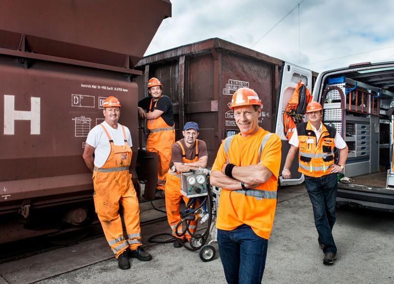 DB Cargo mobiles Waggonreparaturteam, Eisenhüttenstadt
