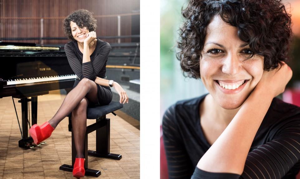 Marialy Pacheko, musician for Gelb / Deutsche Post