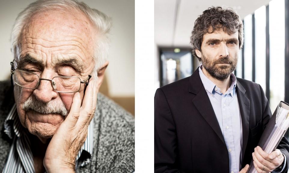 Werner Christukat und Frank Scheulen, beteiligt an einem Kriegsverbrecherprozess für Der Spiegel