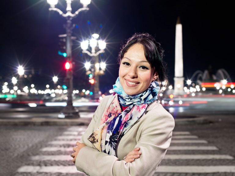 Nora Ould Amar, parisienne for Railways / DB Cargo