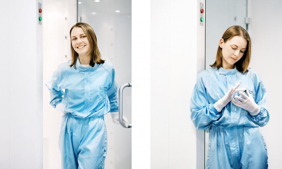 Stefanie Dokupil, Nachwuchswissenschaftlerin für Technology Review