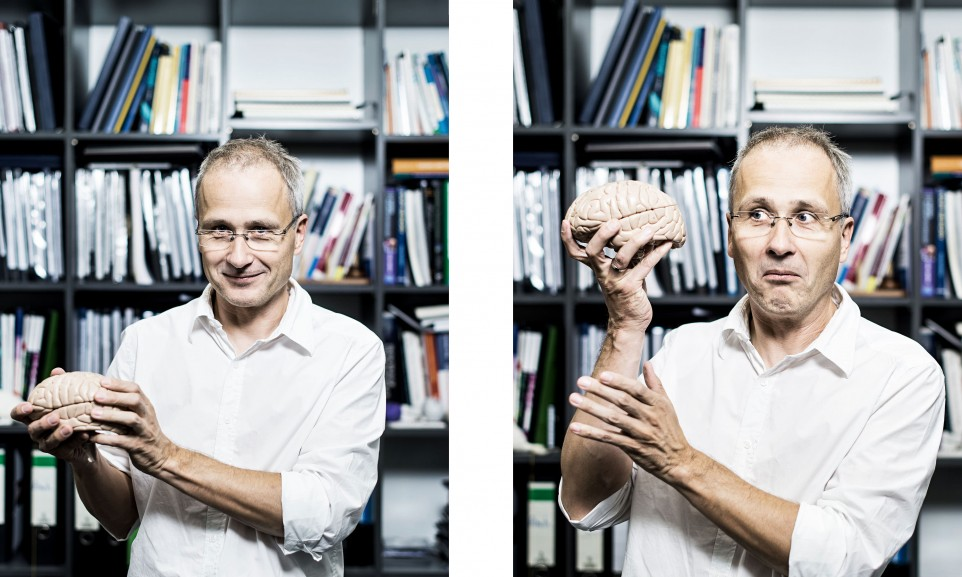 Prof. Boris Suchan, scientist for Substanz magazine