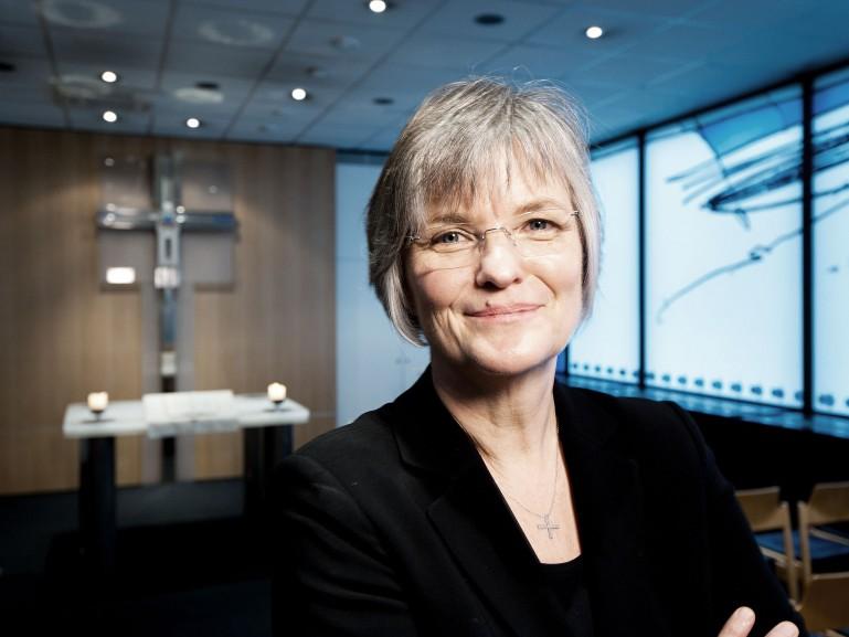 Pfarrerin Ulrike Johanns, Flughafen-Seelsorge Frankfurt für Geolino