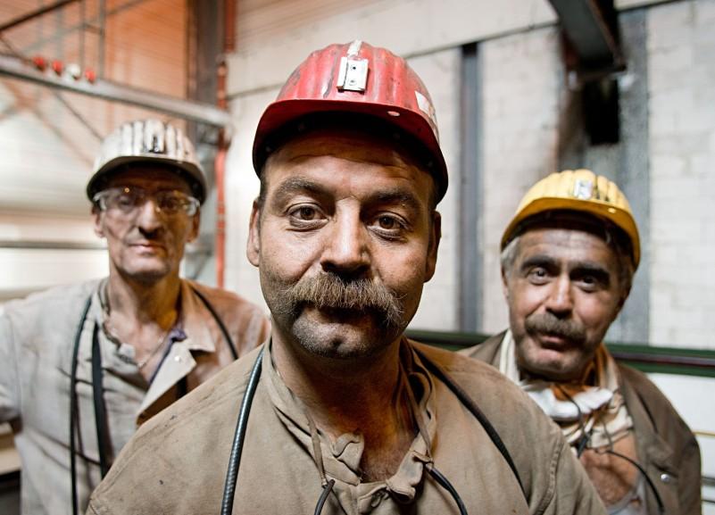 miners in North Rhine-Westphalia for Der Spiegel