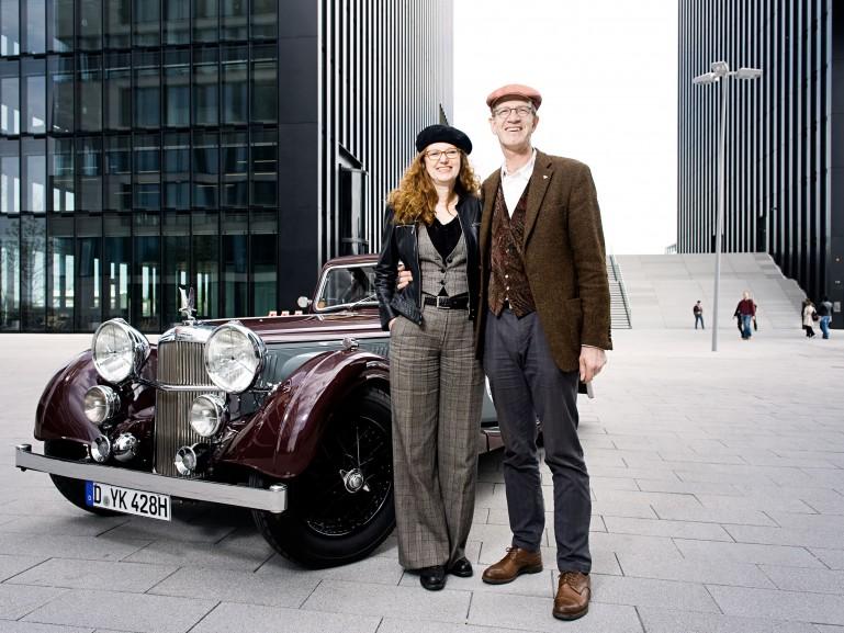 classic car collectors in Dusseldorf for Der Spiegel