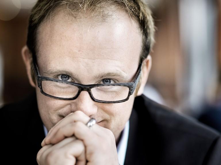 Soeren Link, Mayor of the city of Duisburg // Financial Times