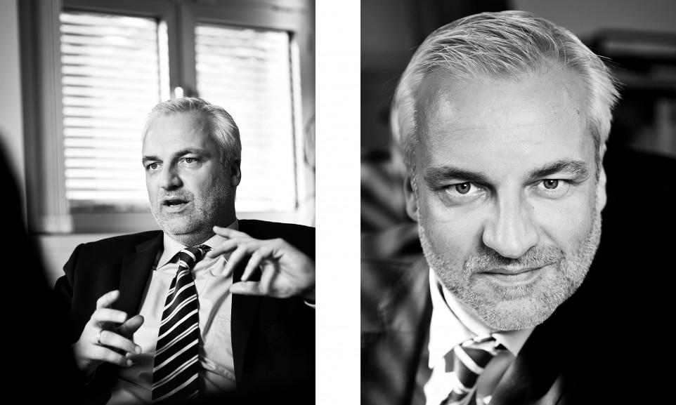 Portrait Garrelt Duin, Wirtschaftsminister NRW a.D. // Focus