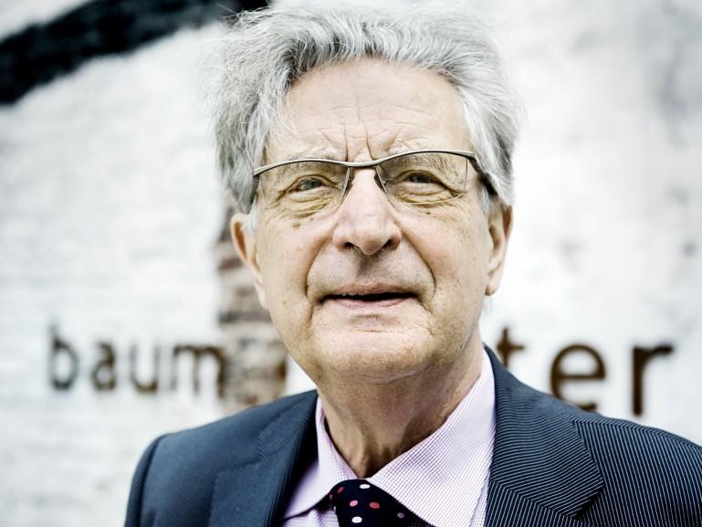 Dr. Gerhart Rudolf Baum, former Federal Minister of the Interior // Der Spiegel