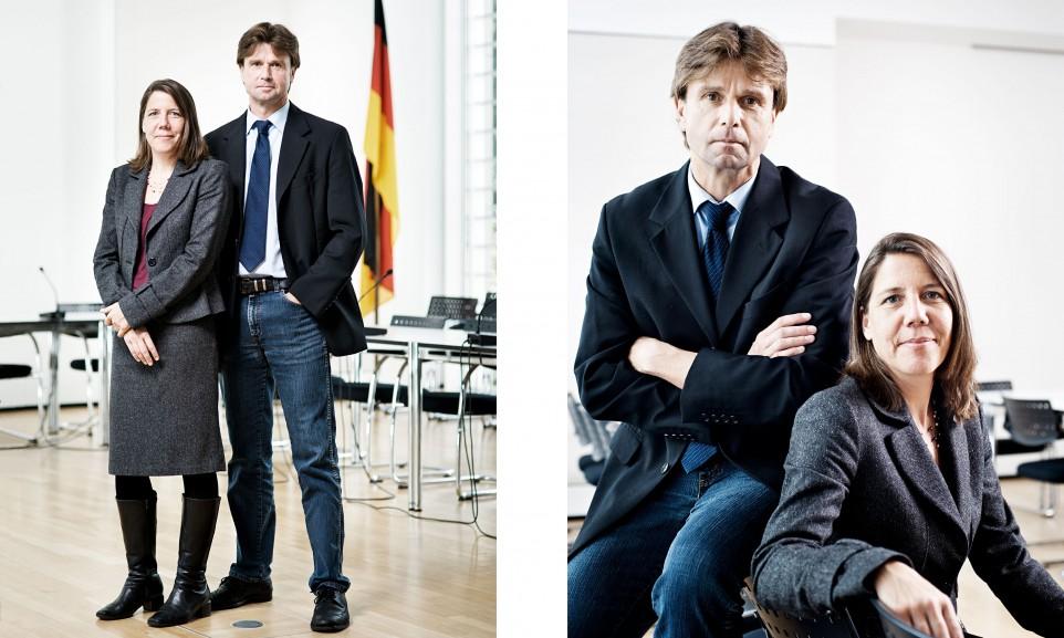 Katharina Kraus und Michael Teschner, Bundeskartellamt // Manager Magazin