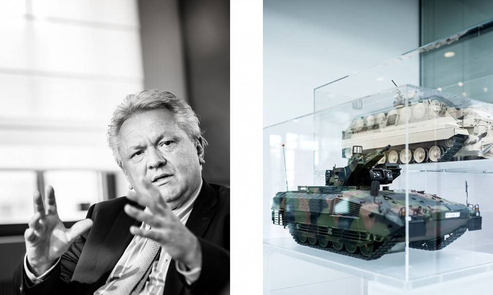 Armin Papperger, CEO Rheinmetall AG for Manager Magazin