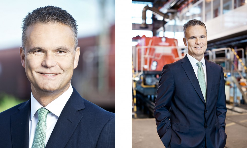 Axel Marschall, CEO DB Cargo for Railways / DB Cargo