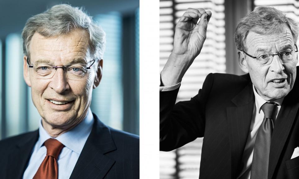 Dr. Gerhard Cromme, Aufsichtsratsvorsitzender der Siemens AG for Der Spiegel