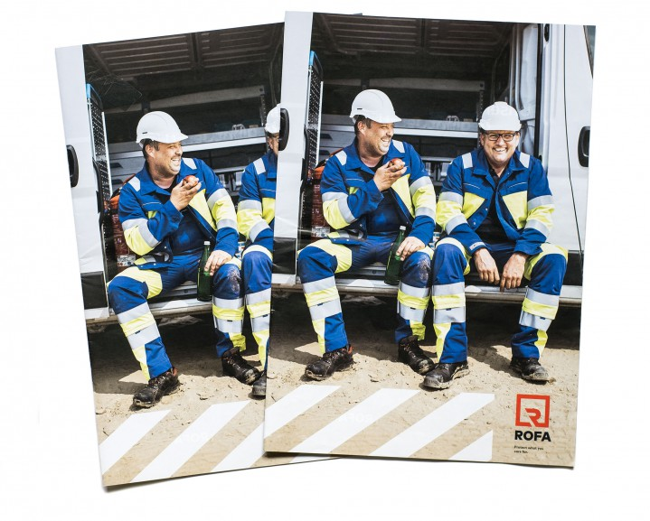 ROFA workwear / Messezeitung