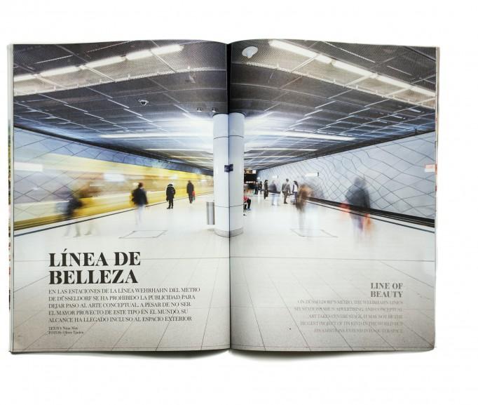 Excelente, Bordmagazin IBERIA / Madrid