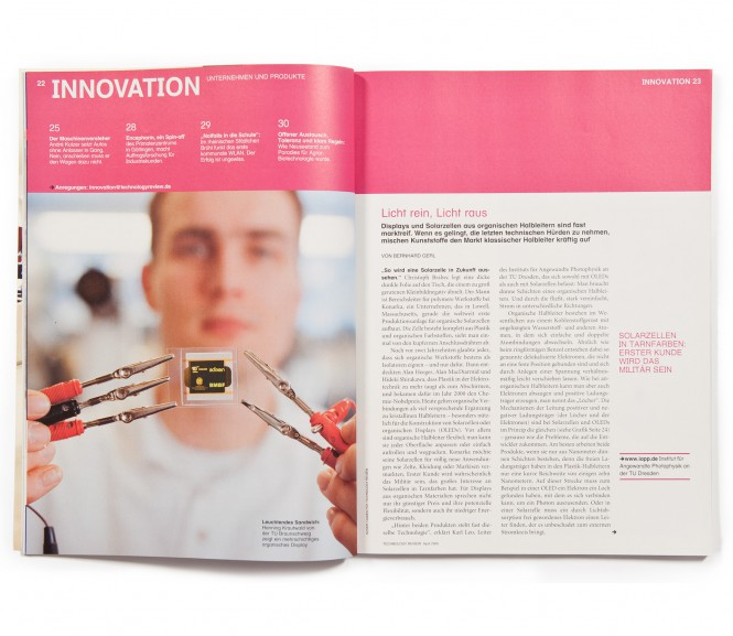 Technology Review / Hannover