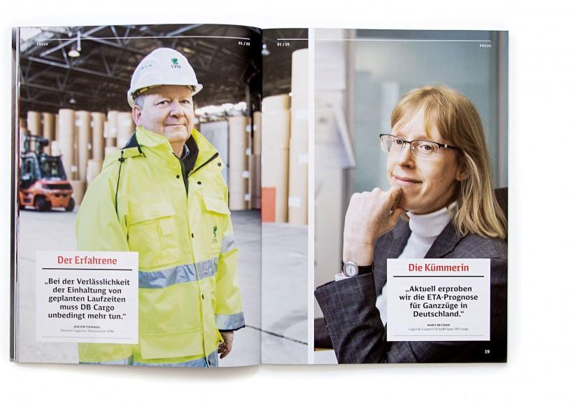 RAILYWAYS / Kundenmagazin DB Cargo
