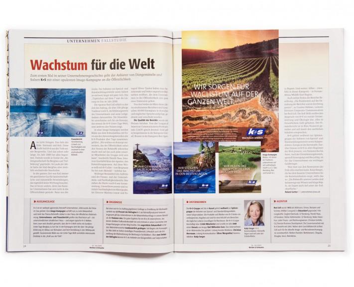 Geschäftsbericht K+S / Kassel