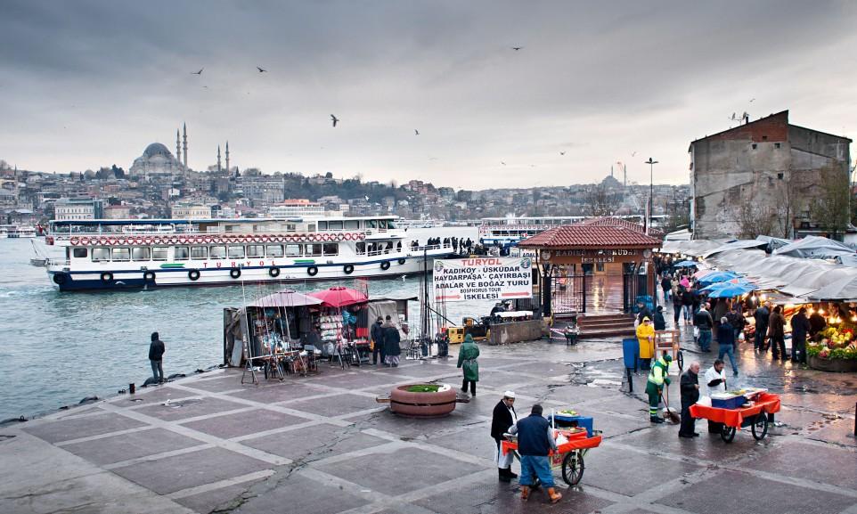 Alltagsszene Istanbul