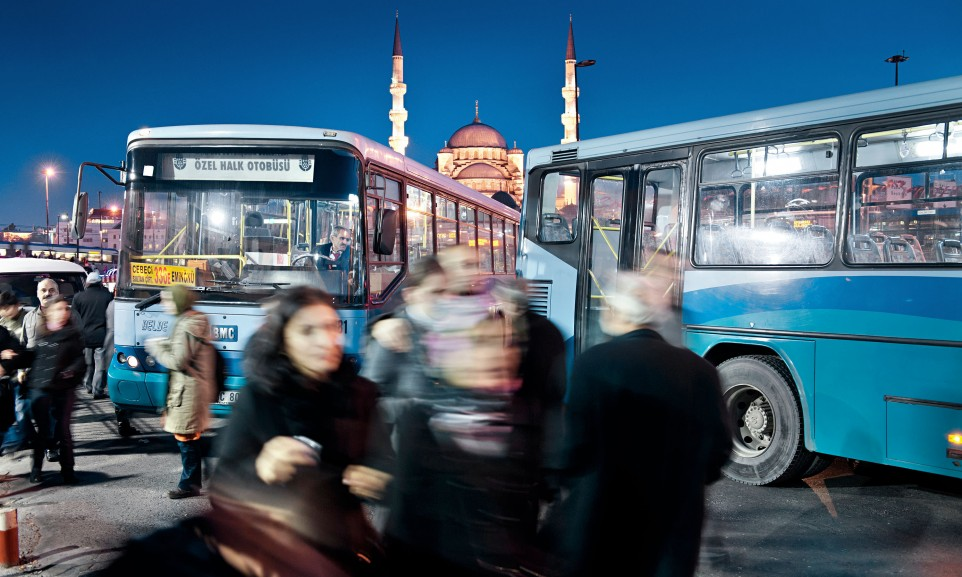Alltagsszene in Istanbul