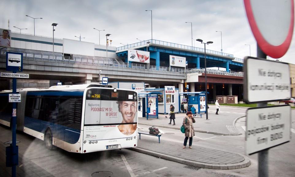 Busbahnhof in Krakoau